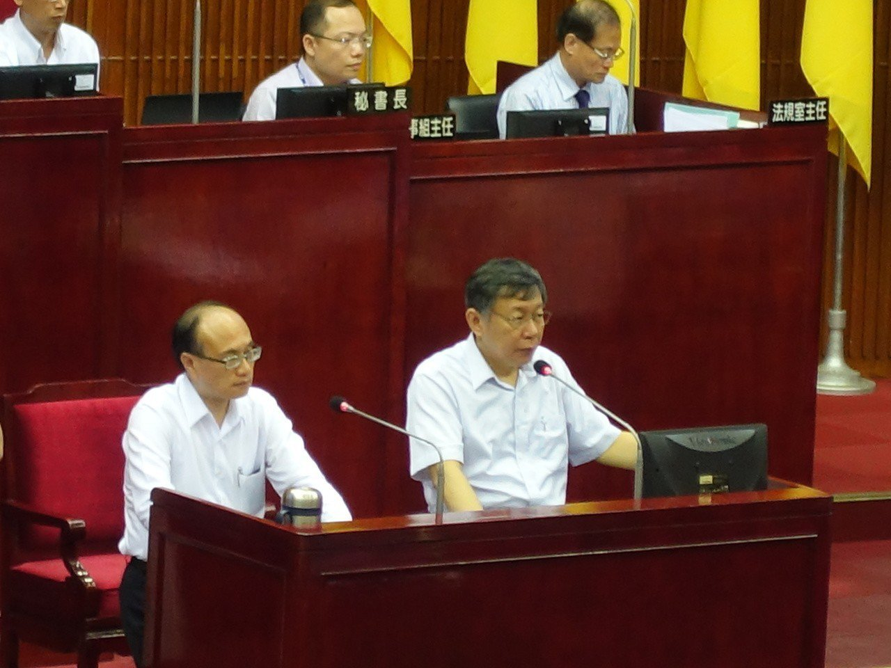 台北市長柯文哲表示,大家都曉得,吳祥輝一定不是主謀,現在到底是怎樣。最後更說,現...