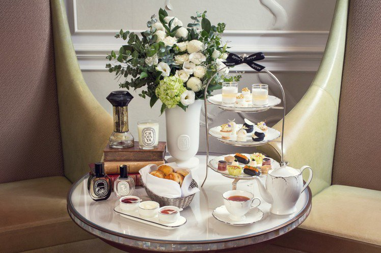 質粹香氛下午茶,每位1,350元+10%。圖/台北文華東方酒店提供