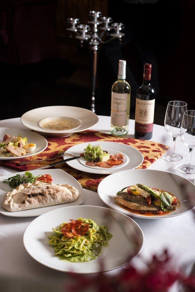 旗下5間餐廳均推出一套1888元的回憶雙人餐。圖為丹耶澧義大利餐廳的1888回憶...