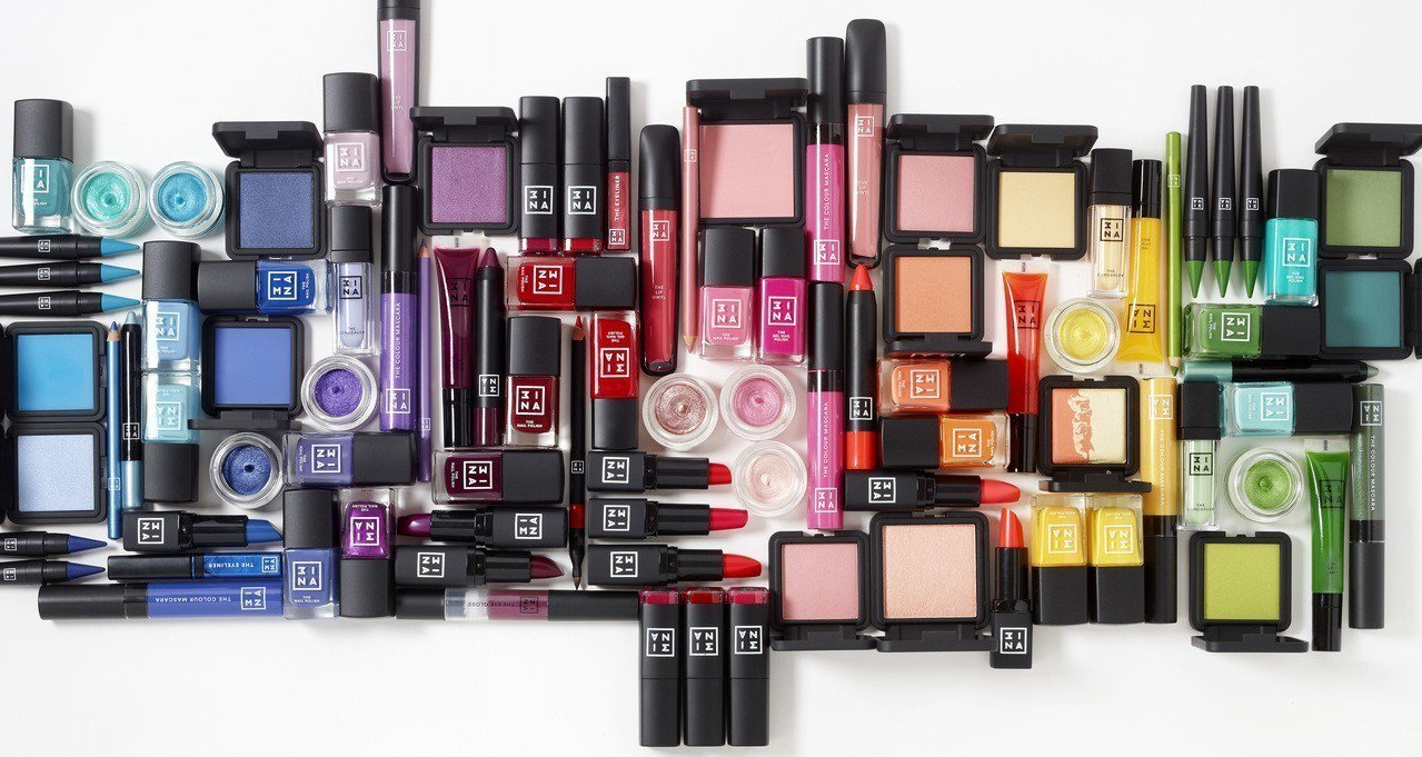西班牙彩妝品牌3INA,台灣首家專櫃將於9/15在新光三越台北信義新天地A8一樓...