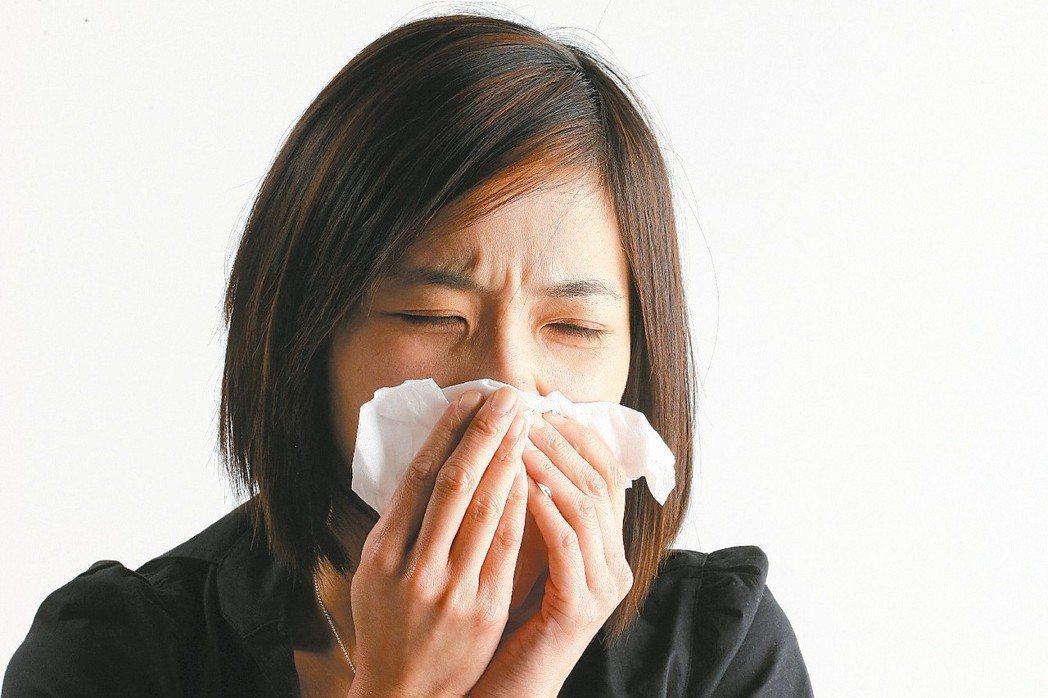 咳嗽示意圖。 圖╱聯合報系資料照片