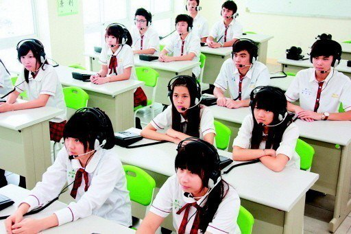 大學明年個人申請入學檢定科目,共有55所校系採計高中英語聽力測驗成績。 圖/聯合...