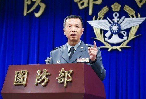 國防部發言人陳中吉。 圖/聯合報系資料照片