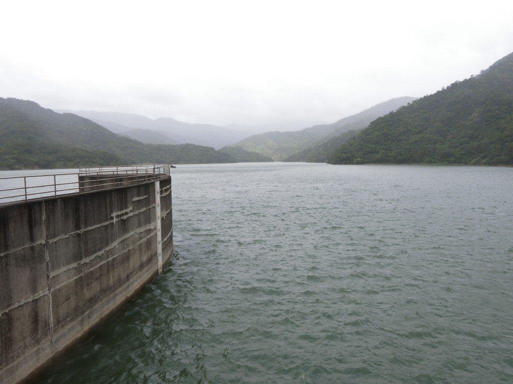 因應山竹颱風來襲,水利署表示,牡丹水庫將於14時起以每秒20立方公尺進行調節性放...