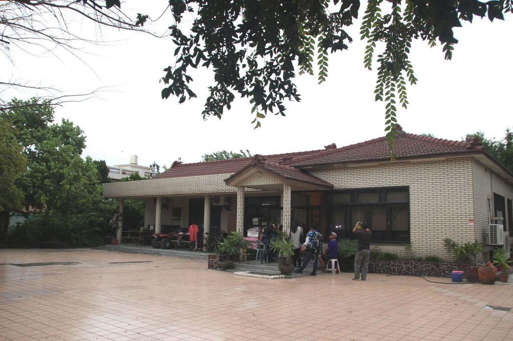 二林鎮洪若潭命案住宅如今為醫師李世傑所有。 記者林敬家/攝影