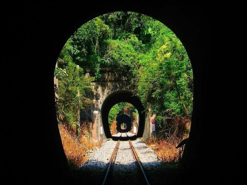 舊山線隧道群景致迷人。