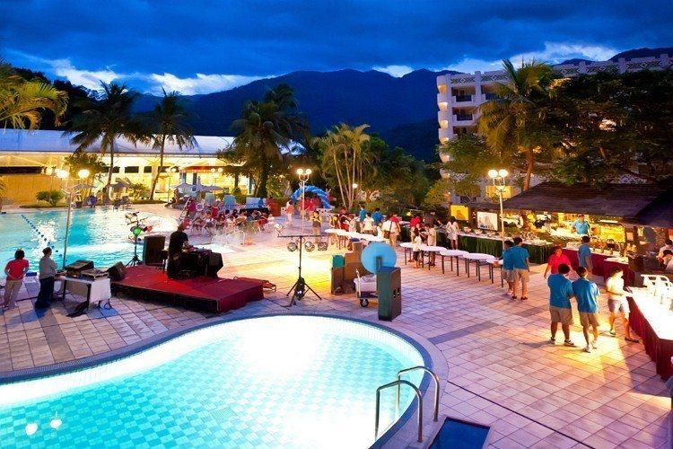 今年中秋夜知本老爺將推出原民風中秋泳池派對 圖/知本老爺酒店 提供