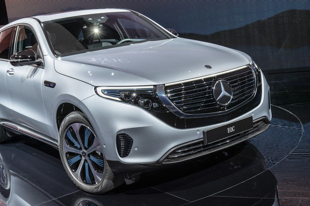 Mercedes-Benz EQC 400 4MATIC。 摘自Mercedes-Benz