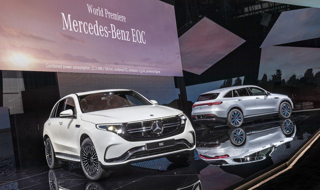 全新Mercedes-Benz EQC 400 4MATIC預計在2019年率先...