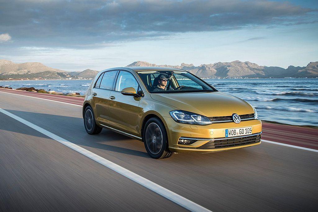 預定明年中開始量產的全新第八代Golf,有越來越多的新車訊息逐漸傳出。 圖/Vo...