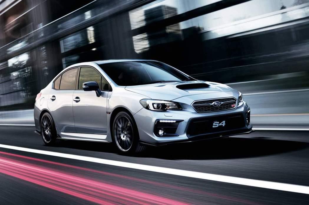 Subaru WRX S4 STI Sport。 摘自Subaru