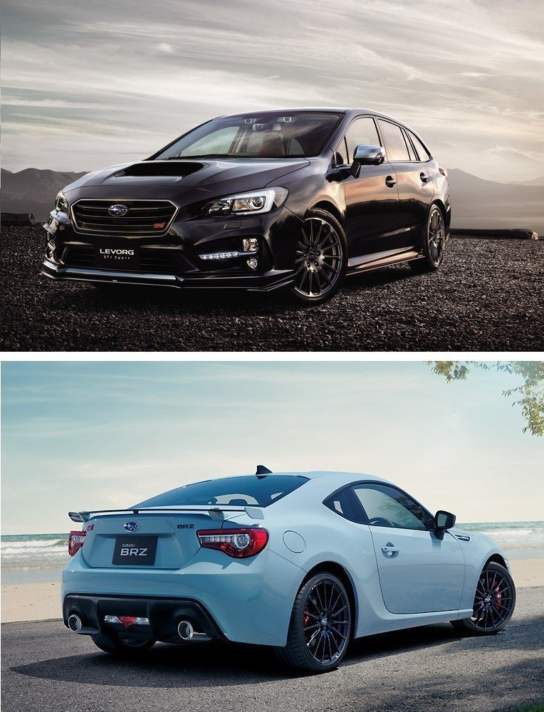 Levorg與BRZ於前幾年也曾推出STI Sport版本。 摘自Subaru