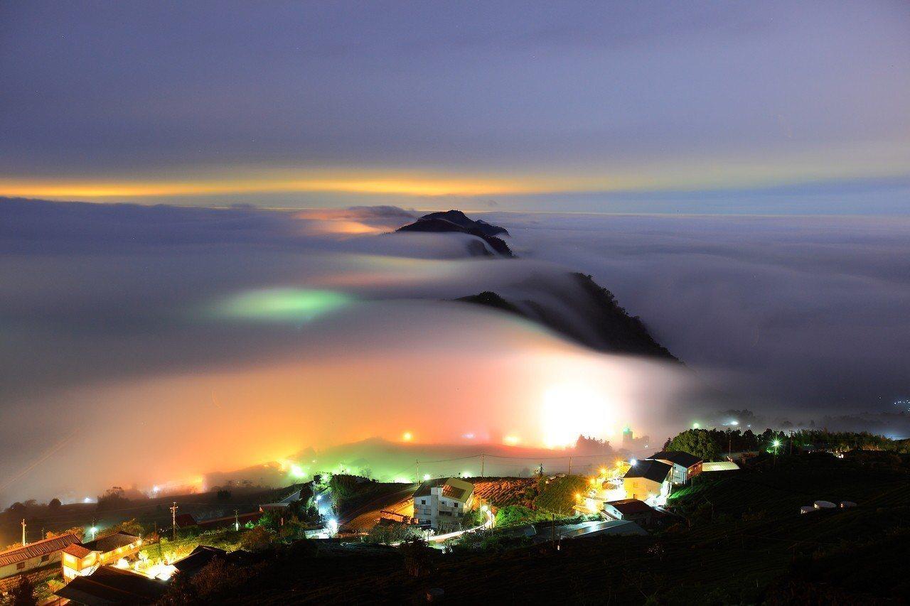 石棹雲瀑。