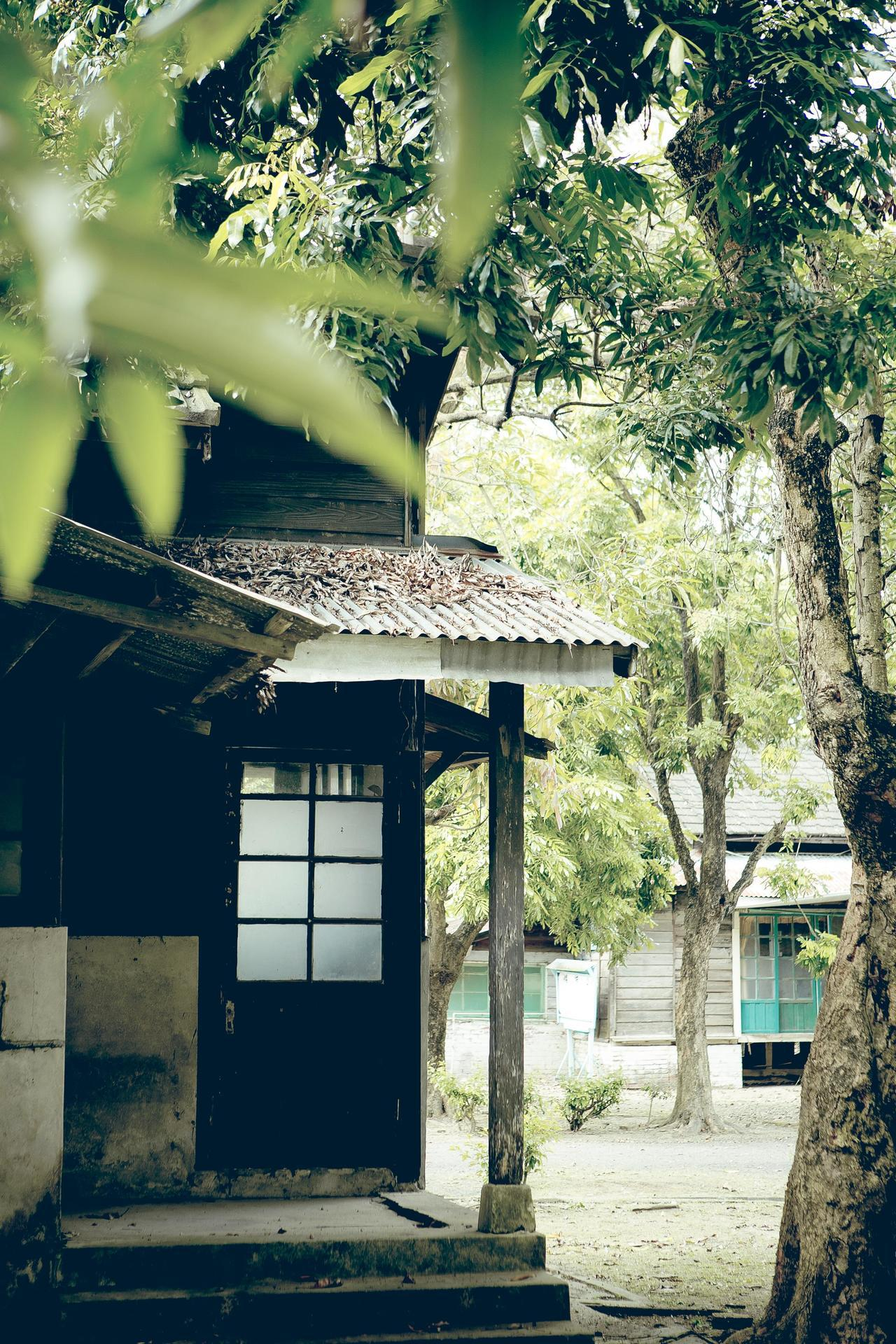 蒜頭糖廠日式宿舍。