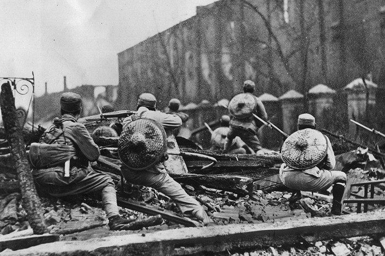 1932年一二八事變,國民革命軍第十九路軍。 圖/維基共享