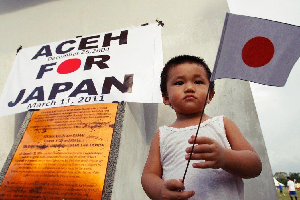 「這天,在記者面前朗讀這封信的兩人,知道心意能夠被傳達給日本災民後,露出了放心的...