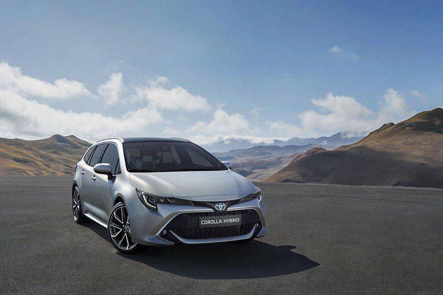Toyota Corolla Touring Sports。 Toyota提供
