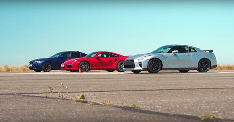 影/BMW M5超級房車挑戰Nissan GT-R與911 Turbo S!