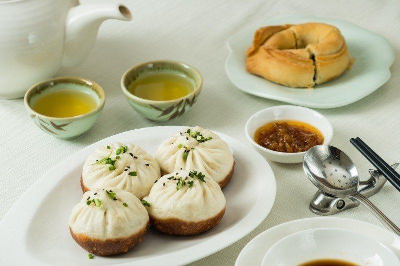上海生煎包純粹內餡溢滿湯汁