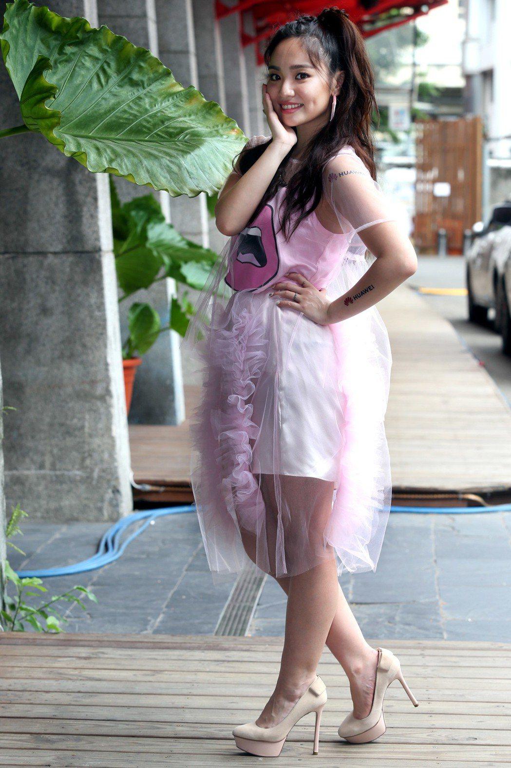 陳芳語18歲出道即爆紅,她分享過去6年起伏星路。記者林俊良/攝影