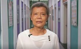63歲盧媽媽抗癌17年,期間復發四次,經歷45化療,承受嚴重腹瀉之苦,在兒子鼓勵...