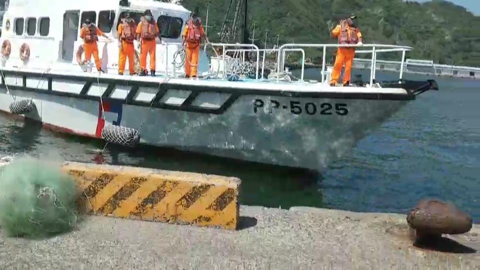 南澳神秘海灘4死1失蹤,宜蘭縣消防局與海巡署今天搜尋最後一名失蹤者,今早在蘭陽溪...