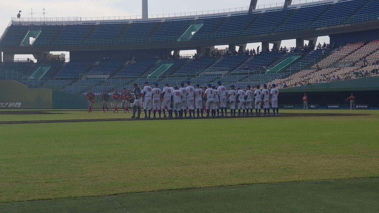 中華隊1:0擊敗大陸隊。圖/中華棒協提供