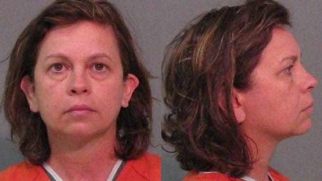美國北卡羅來納州約克郡警方提供克萊頓太太的照片。取自BBC
