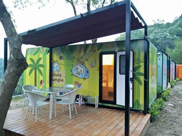 呼啦莊園露營車號稱是六星級露營車園區。圖/摘自呼啦莊園粉絲專頁
