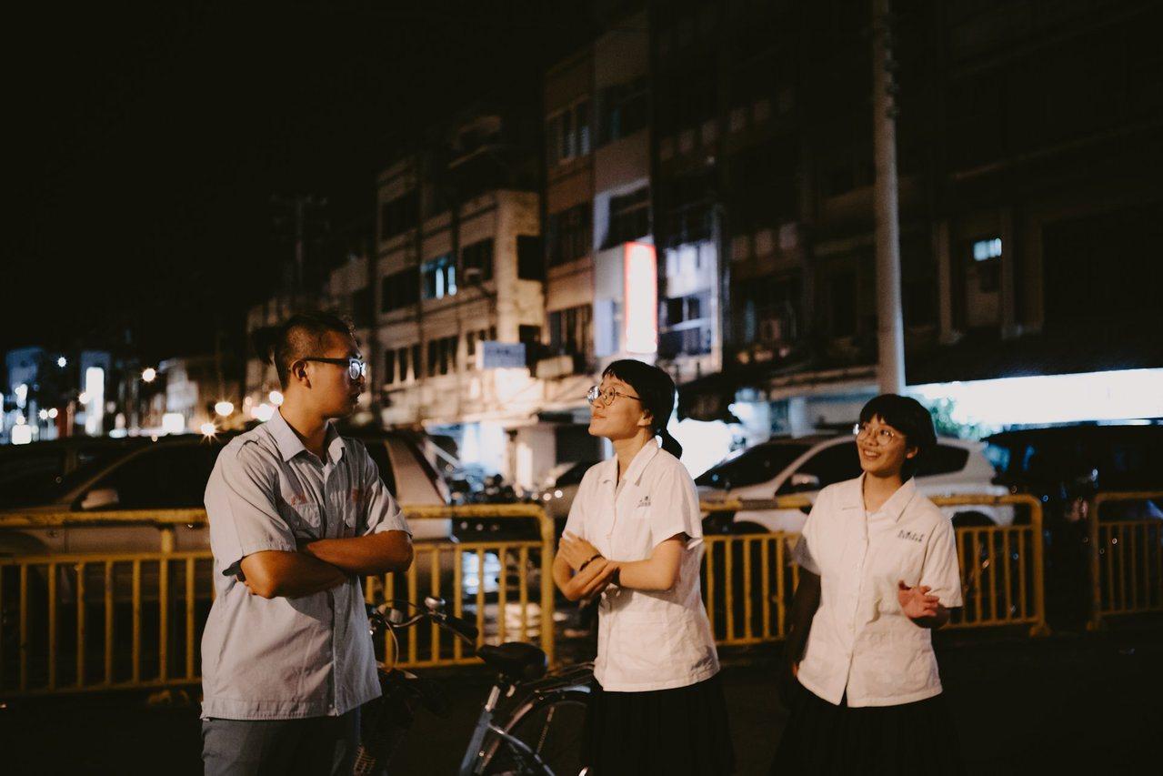 「咱溝仔尾ㄟ」社區漫步劇場,以花蓮市溝仔尾為舞台演出。圖/花蓮老王提供