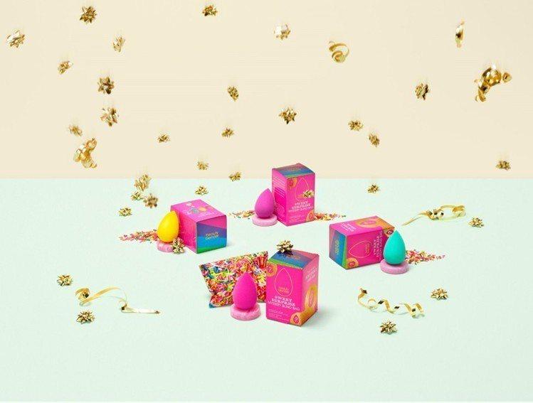 beautyblender SWEET SURPRISE甜蜜驚喜限定禮盒採用充滿...