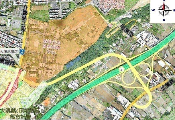 桃園市政府研擬延伸豐德路增設國道三號八德第二交流道,可行性研究報告將於9月底前提...