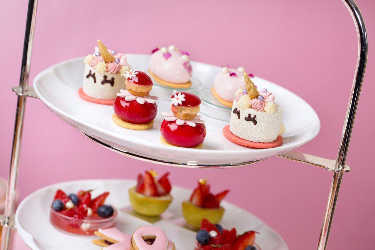 法式甜點「修女泡芙」由一大一小兩個圓形泡芙上下堆疊,因神似穿長袍的修女而得名。圖...