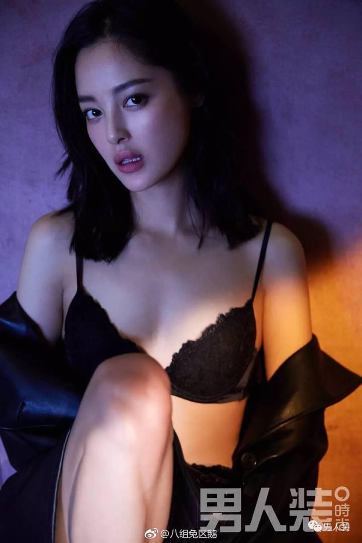 辛芷蕾火辣舊照曝光。圖/摘自微博