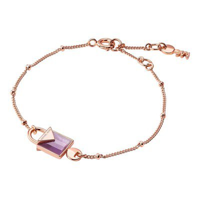 DEMI-FINE輕奢珠寶系列KORS COLOR月份的生辰石手鍊,8,000元...