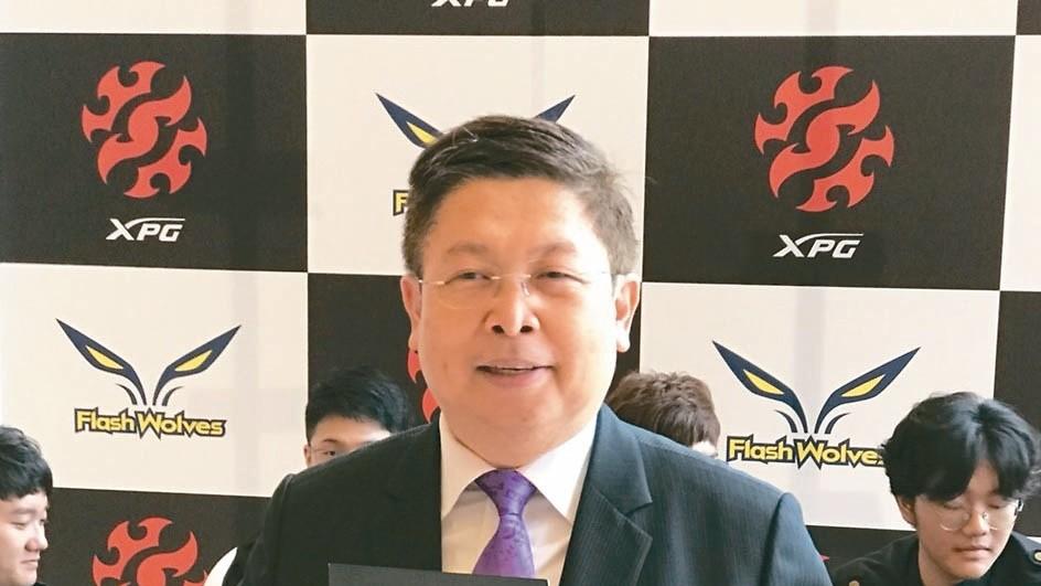 威剛董事長陳立白。 報系資料庫