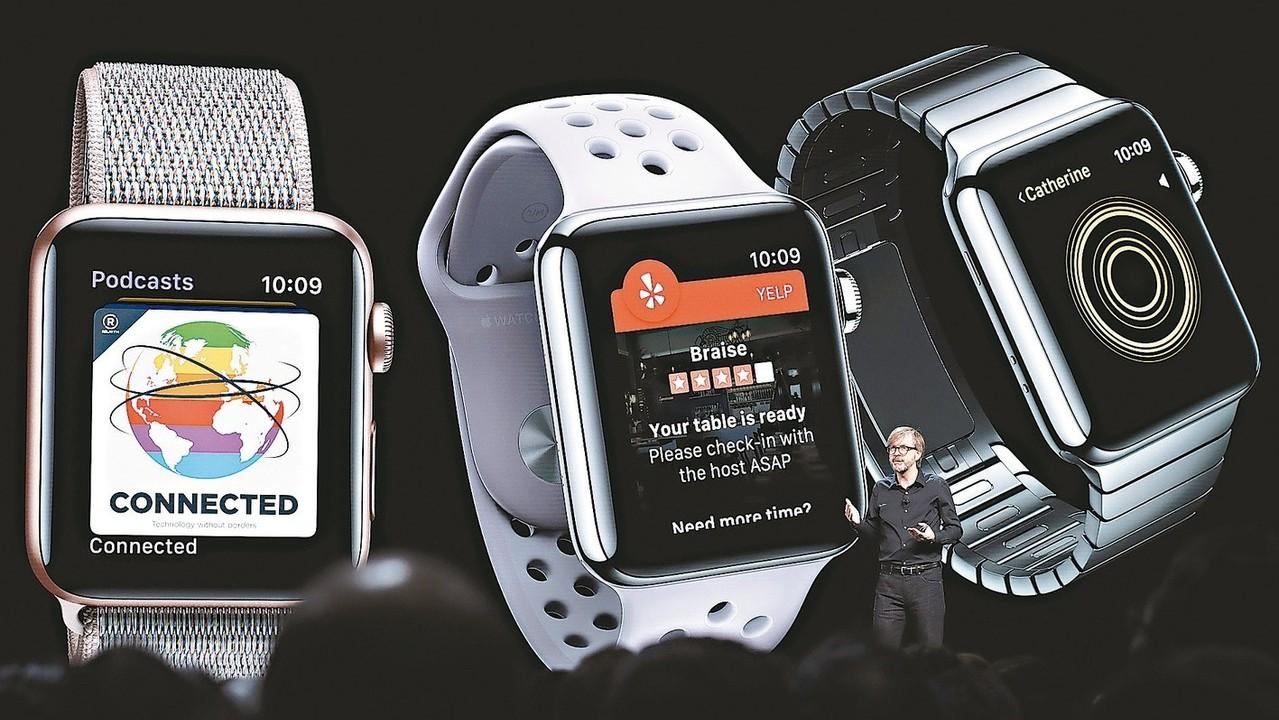 Apple Watch第2季出貨470萬台,全球市占率17%,穩坐全球穿戴裝置龍...