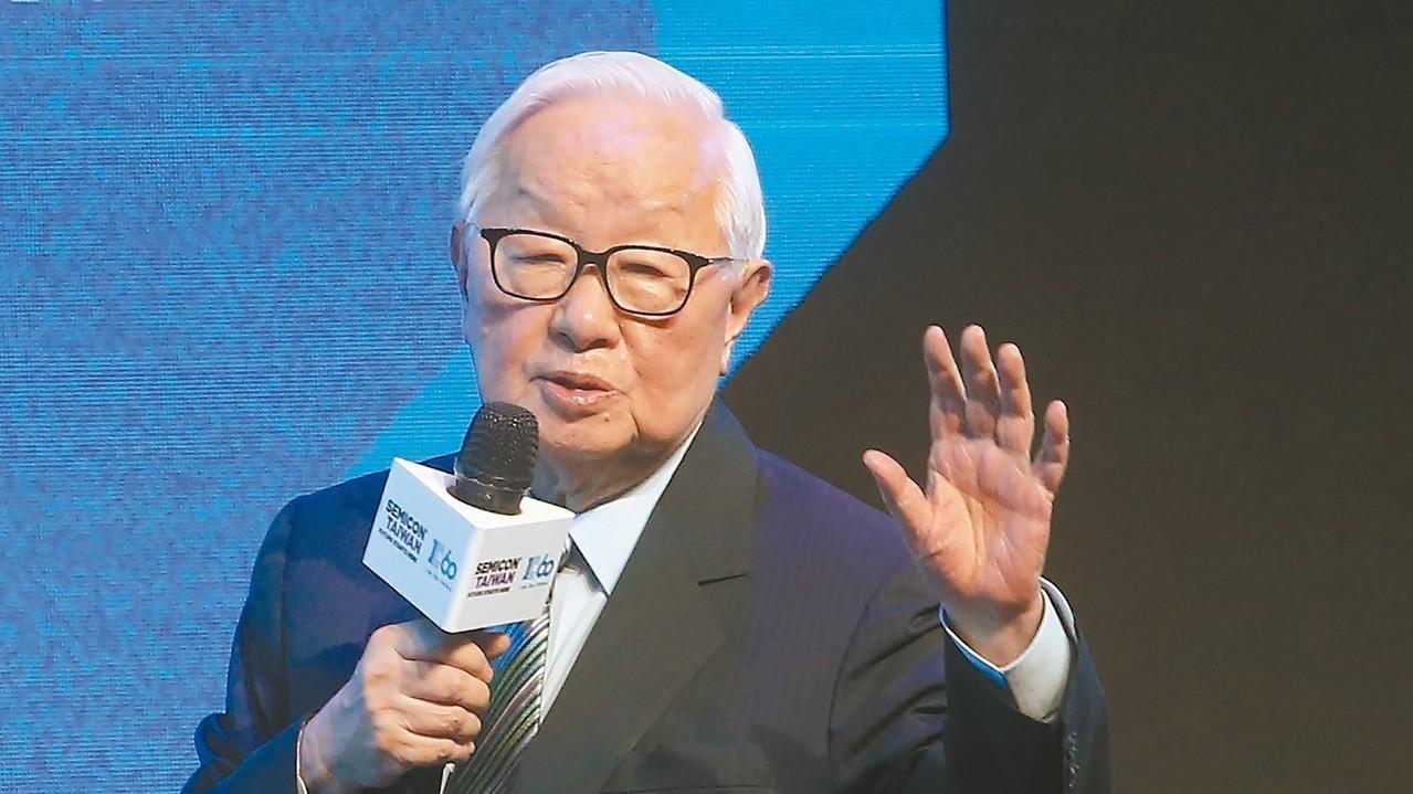 台積電創辦人張忠謀 記者胡經周/攝影