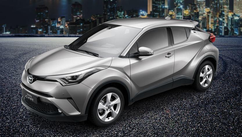 Toyota CH-R。 圖/Toyota提供