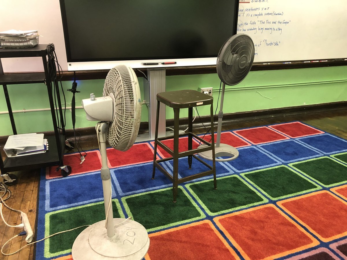 費城公校過熱。記者呂賢修╱攝影