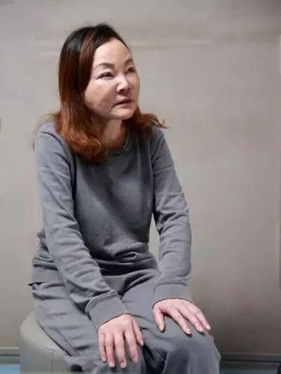 重慶女校長公款狂整容,連哭都像是在笑。 葉玉鏡/翻攝
