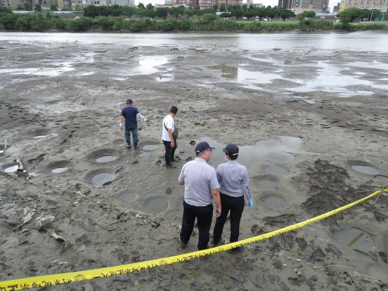 新北市警方偵辦永和分屍案,封鎖現場。(警方提供) 中央社