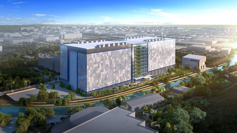 臉書將投資10億多美元在新加坡建立數據中心,為臉書在亞洲首座數據中心。 圖/取自...