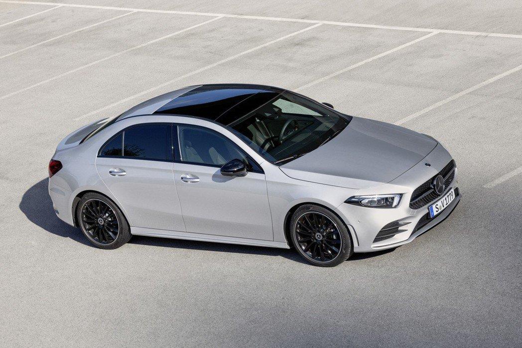全新Mercedes-Benz A-Class Sedan。 摘自Mercede...