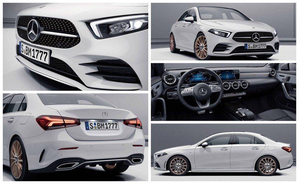 全新Mercedes-Benz A-Class Sedan Edition 1。...