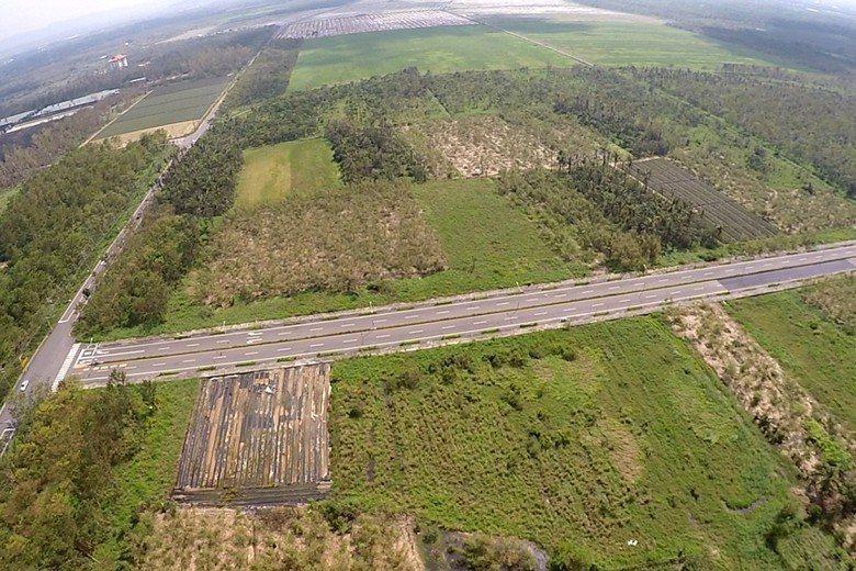 沙崙影視基地計畫用地。 圖/台南市政府提供