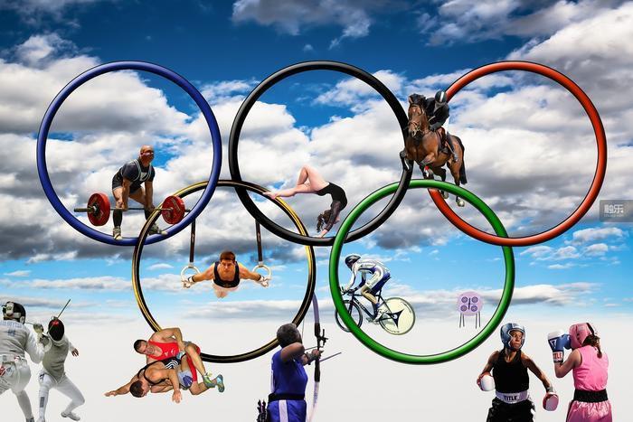 奧運五環在創造時,5種顏色加上底色的白色,代表了當時所有國家國旗的顏色,表達了古...