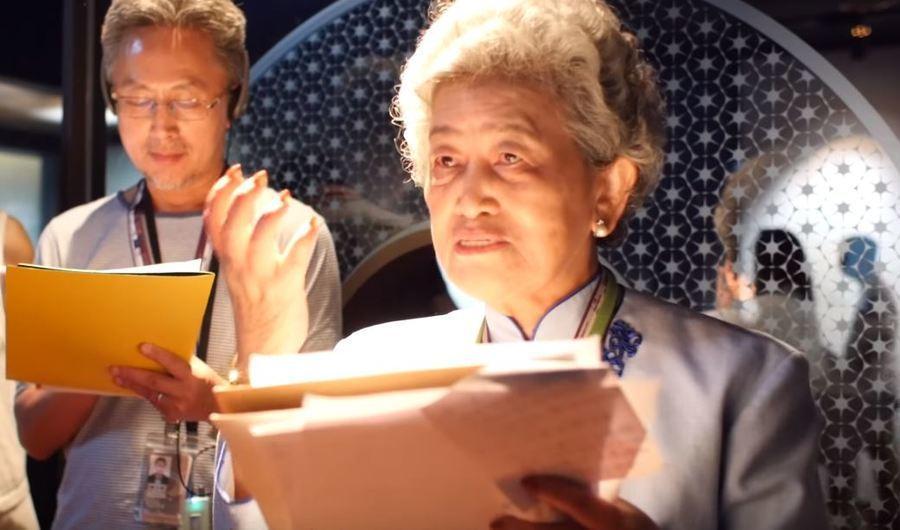 高齡84歲最資深的故宮領路人孫若澂奶奶表示,導覽讓她發現許多需要繼續學習的地方。...