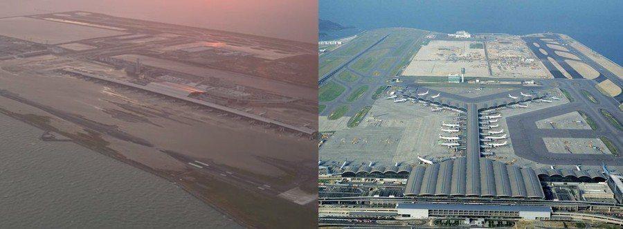 香港國際機場跟日本關西機場一樣,同是建於人工島上,如果香港面對強颱風吹襲,或同樣...