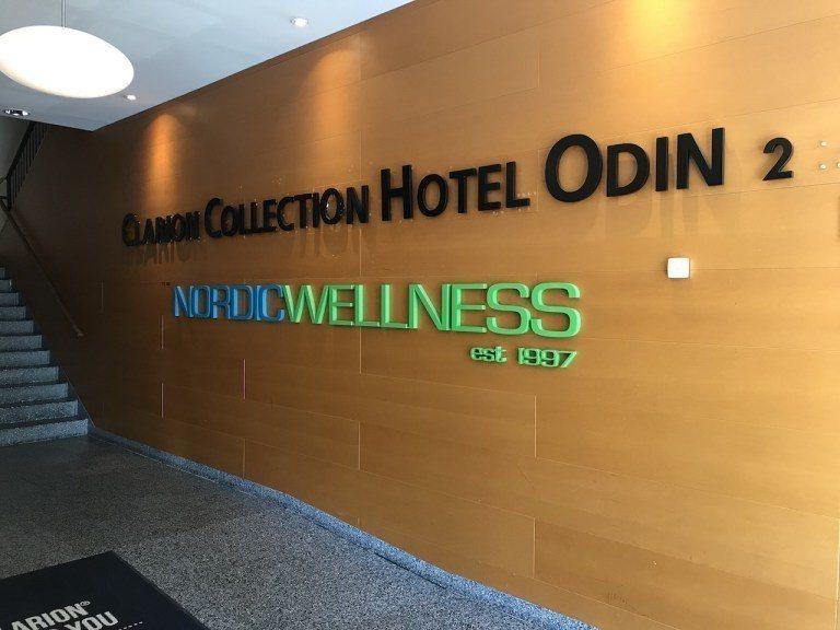 酒店有點類似商務大樓改建,裡面有個對外營業的連鎖健身中心-Nordic Well...
